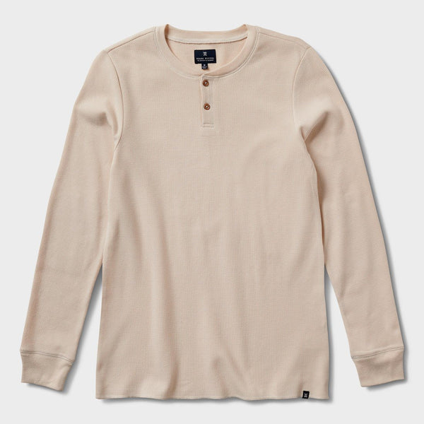 product: Roark Tomac Waffle Knit Thermal Shirt Natural