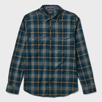 product: Roark Wanch Flannel Indigo