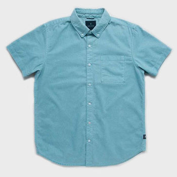 product: Roark Well Worn Oxford S/S Light Blue
