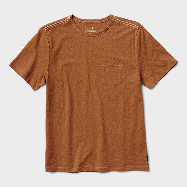 product: Roark Well Worn T-Shirt Brown