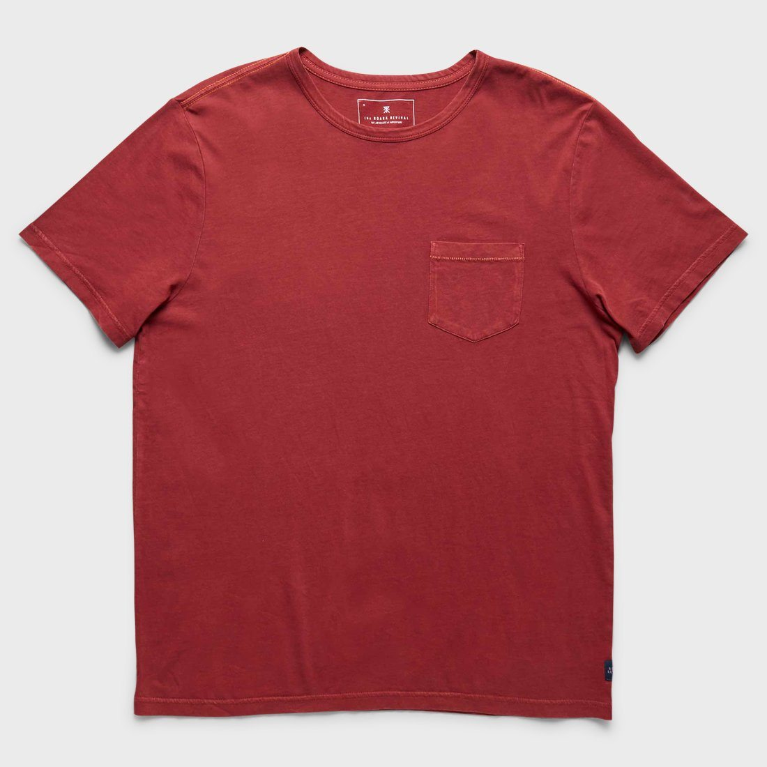 Roark Well Worn T-shirt Burgundy