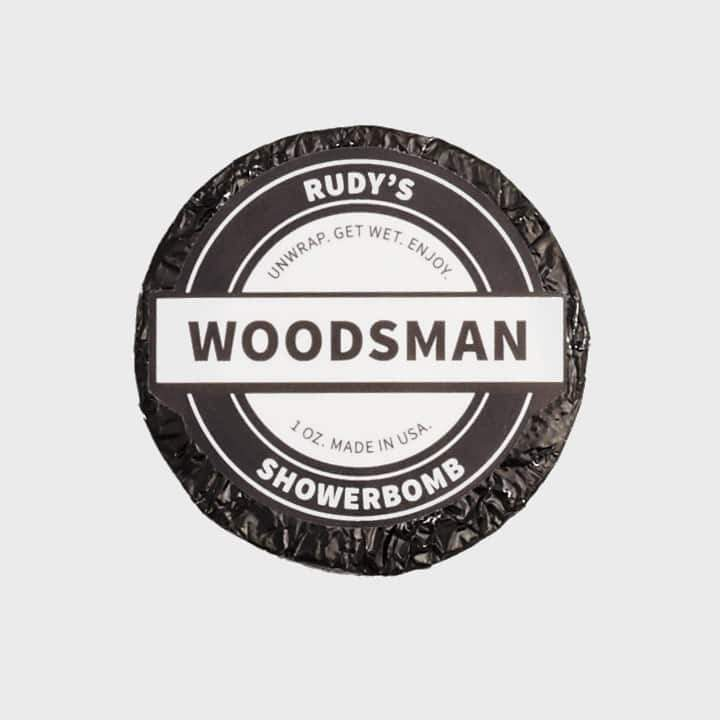 Rudy's Woodsman Shower Bomb