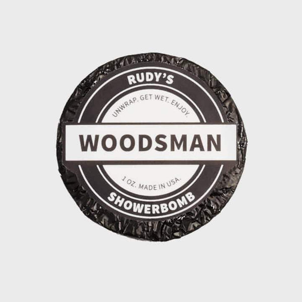 product: Rudy's Rudy's Woodsman Shower Bomb