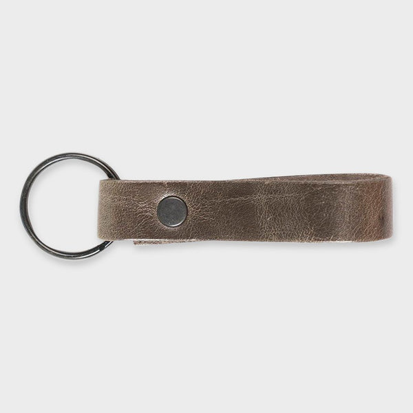 product: Rustico Loop Keychain Charcoal