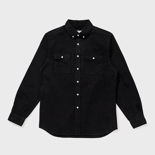 product: Saturday's NYC Angus Broken Twill Black