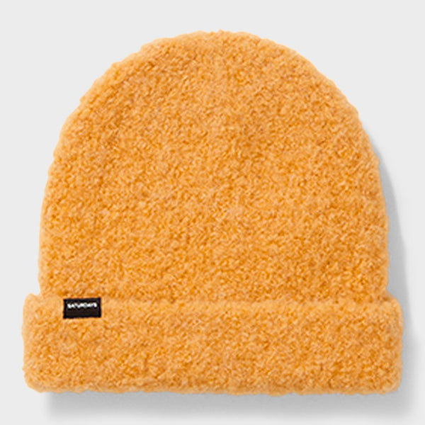 product: Saturday's NYC Boucle Beanie Saffron