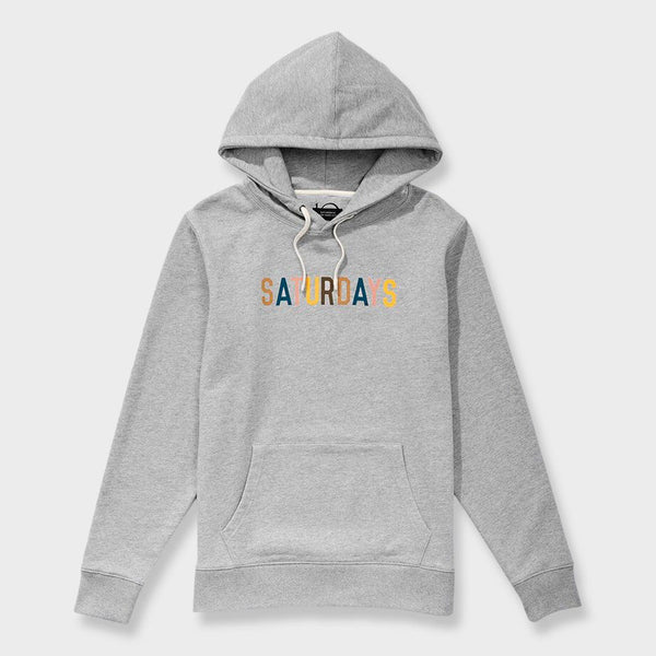 product: Saturday's NYC Ditch Miller Standard Hoodie Ash Heather