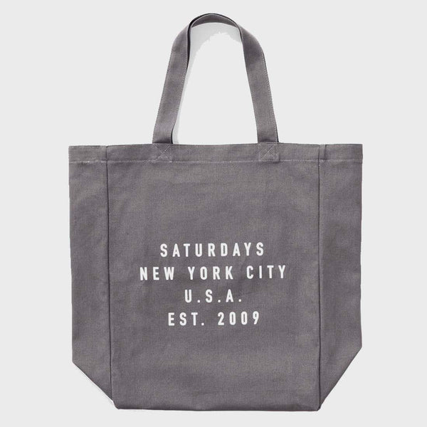 product: Saturday's NYC Established USA Tote Slate