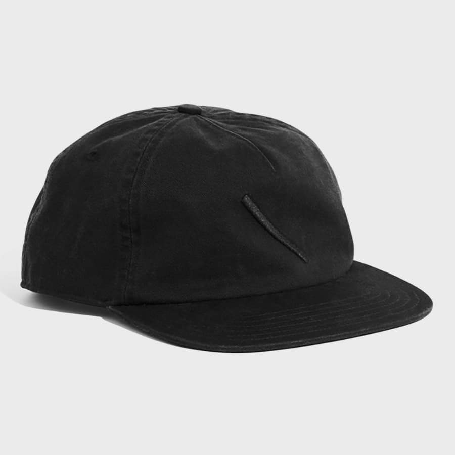 Saturday's NYC Stanley Washed Hat Slash Washed Black