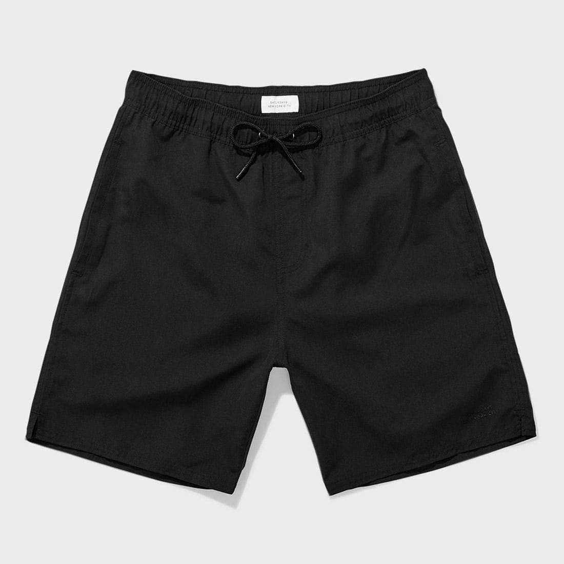 Saturday's NYC Timothy Swim Short Black