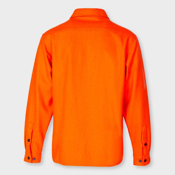 product: Schott CPO Wool Shirt Orange
