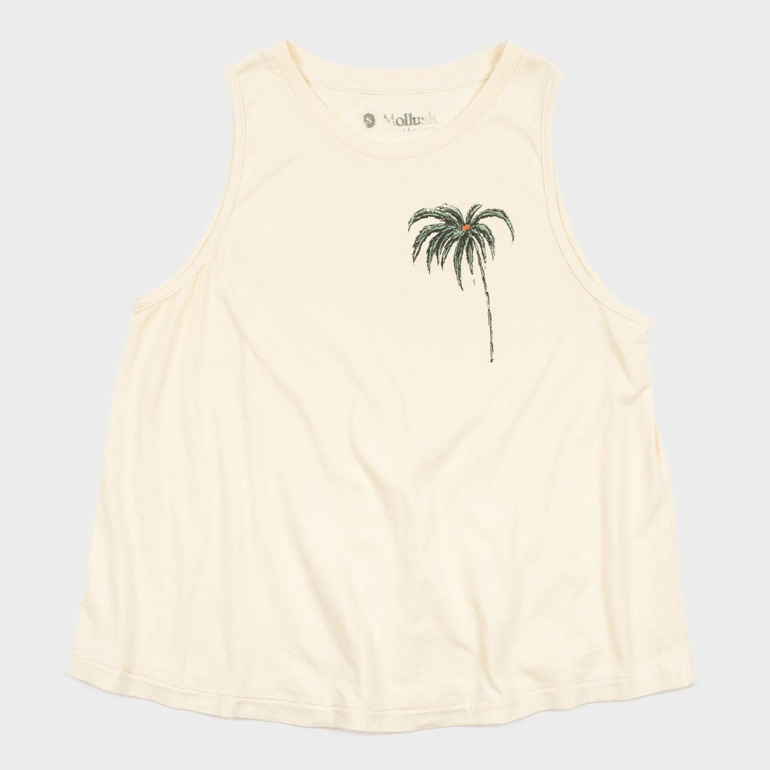 Mollusk Women's South Pacific Tank Natural