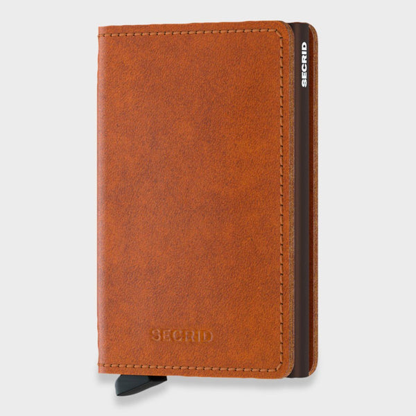 product: Secrid Original Slimwallet Cognac Brown
