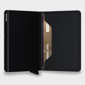 product: Secrid Slimwallet Vegan Soft Touch Black