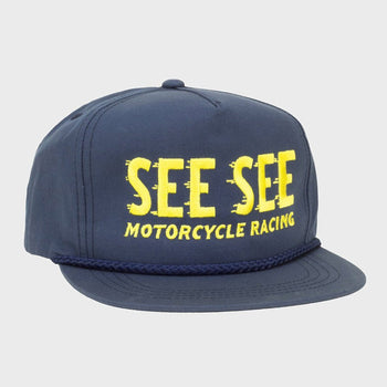 product: See See Motorcycles Blue Steel Snapback