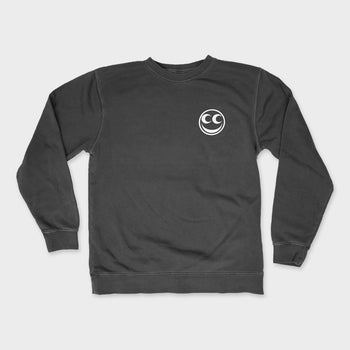 product: See See Motorcycles Racing is Easy Crewneck Charcoal