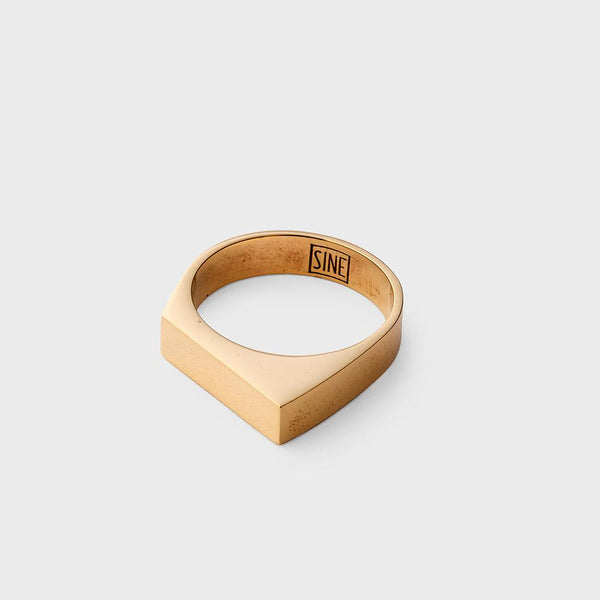 product: Sine Ascend Ring Brass
