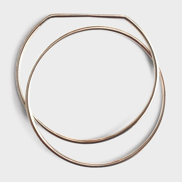 product: Sine Assembly Bracelet Brass