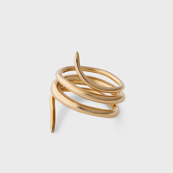product: Sine Beckon Ring Brass