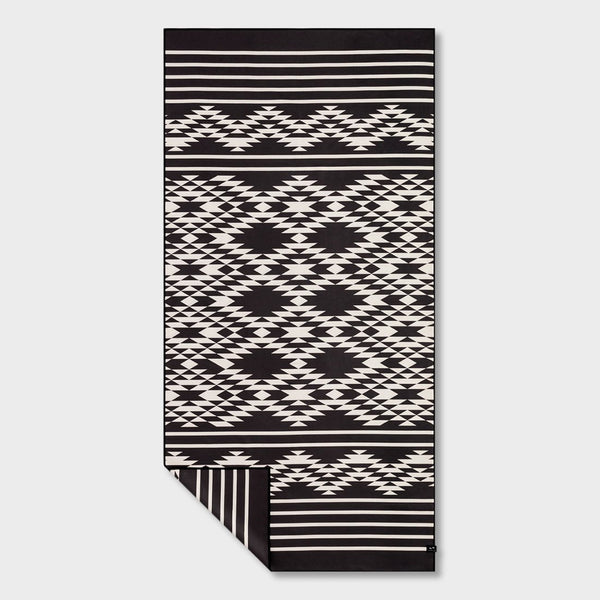 product: Slowtide Badlands Travel Towel Black