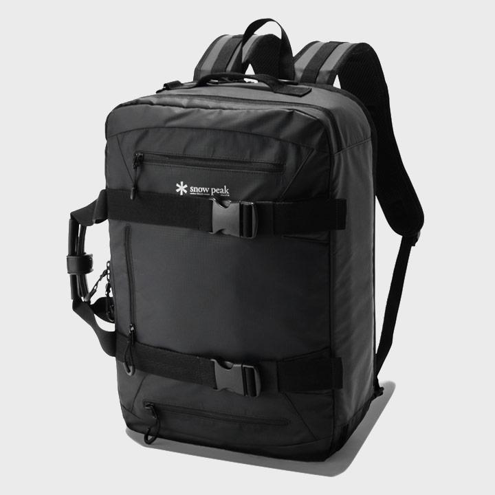Snow Peak 3-Way Business Bag Black