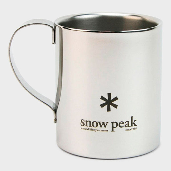 product: Snow Peak Logo Double Wall 330 Cup