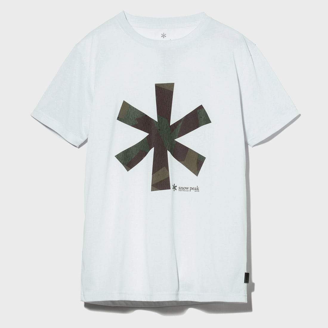 Snow Peak Quick Dry Tee White