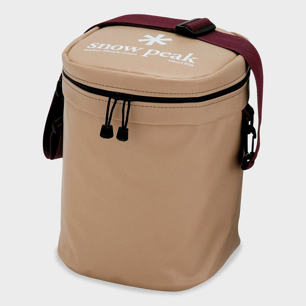 product: Snow Peak Soft Cooler 11 Beige