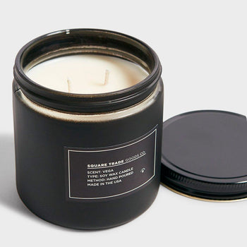 product: Square Trade Goods Vega Double Wick 16oz