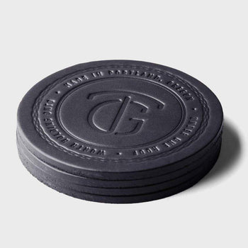product: Tanner Goods Tanner Coaster Set Black