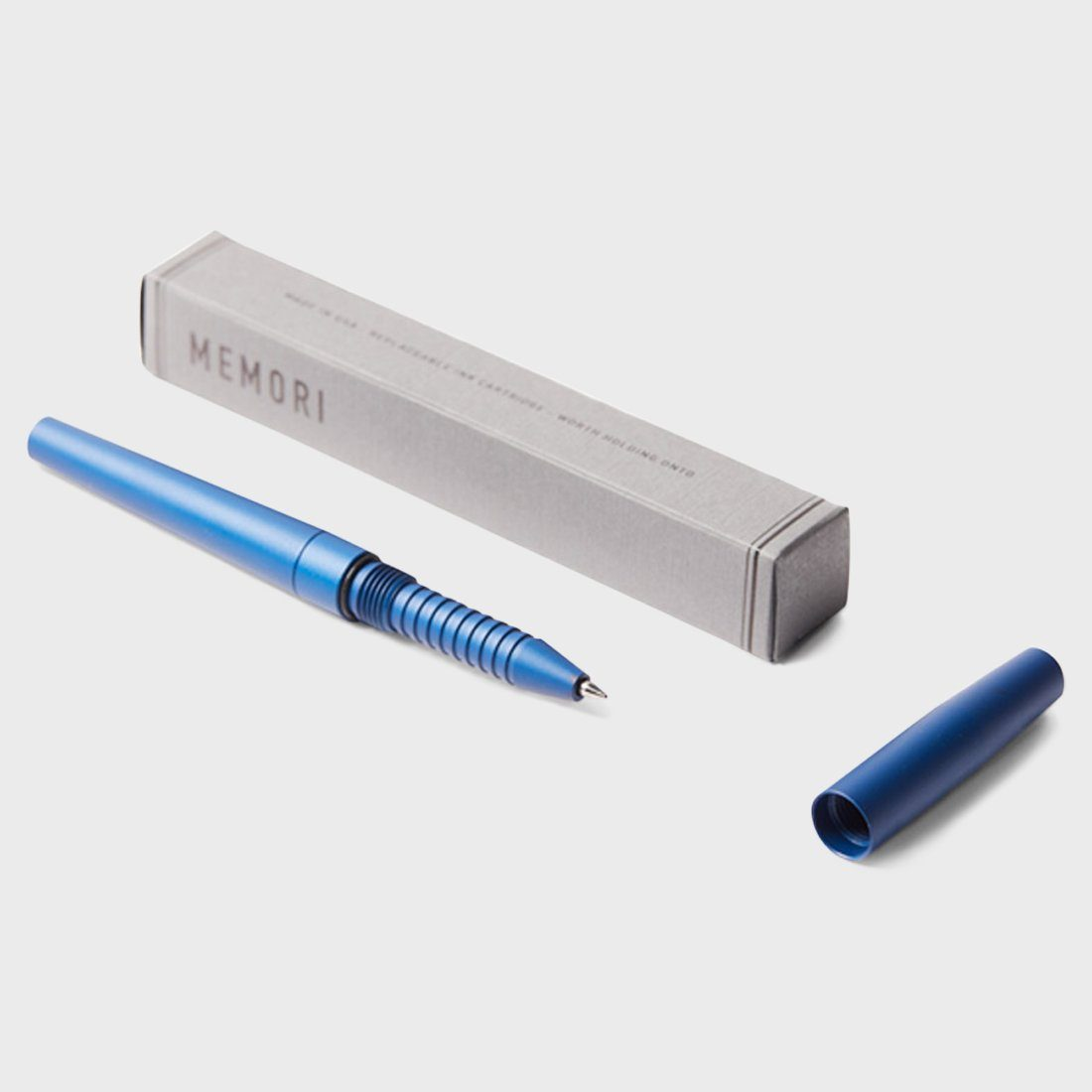Tanner Goods Memori Pen Blue