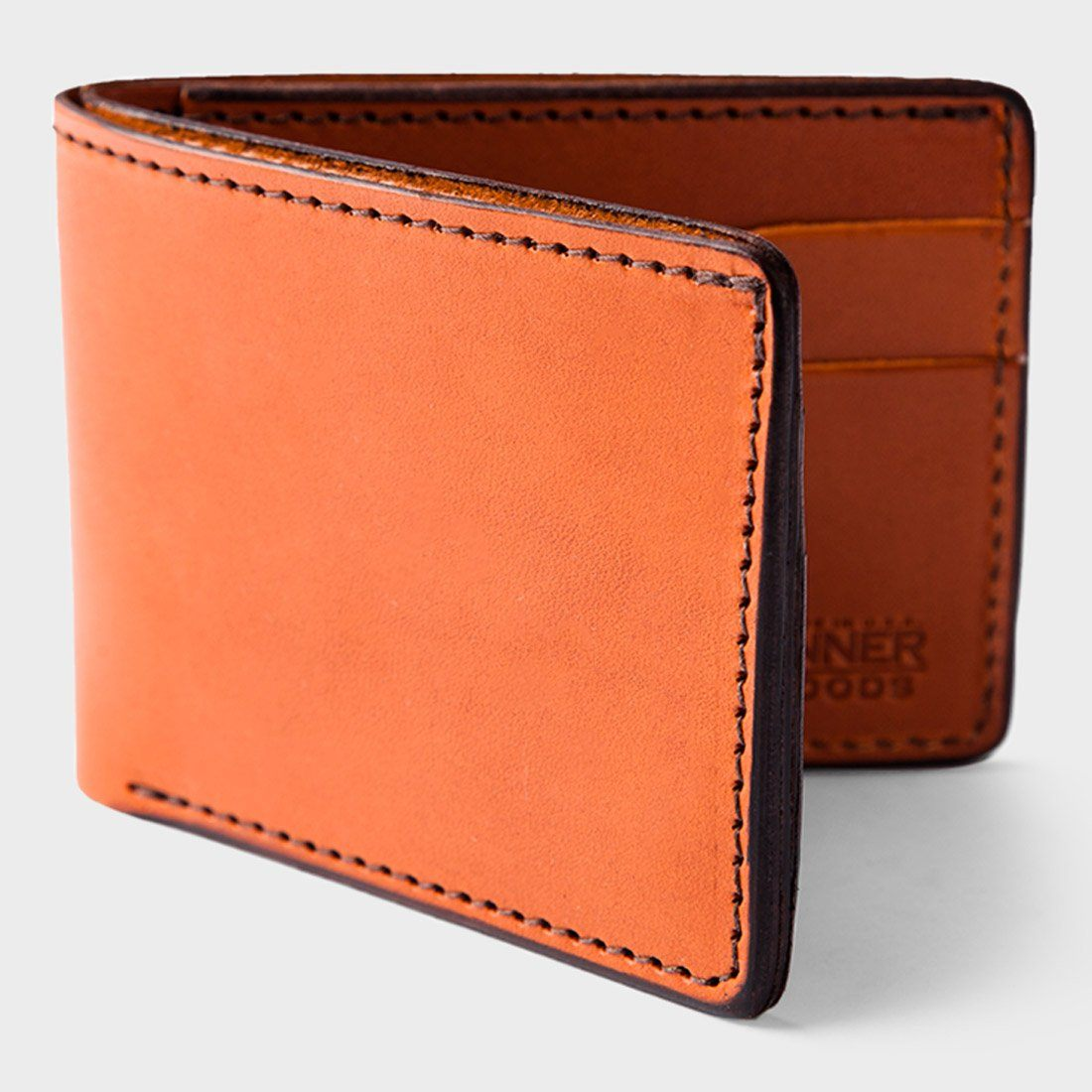 Tanner Goods Utility Bifold Wallet Saddle Tan
