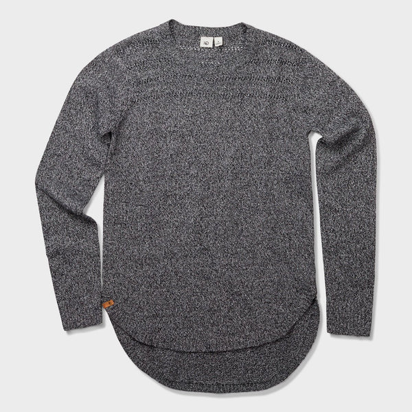 product: Tentree Women's Forever After Sweater Coal Black/Elm