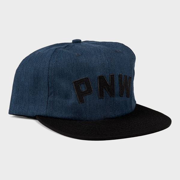 product: The Great PNW Chester Unconstructed Hat Navy/Black