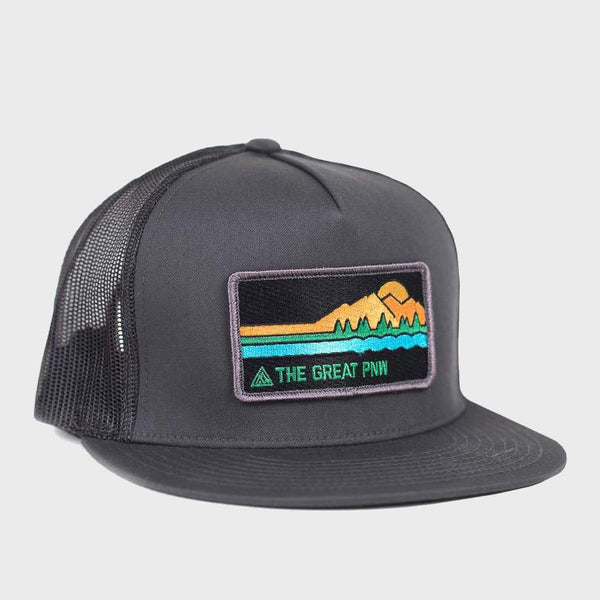 product: The Great PNW Freestone Trucker Hat Grey