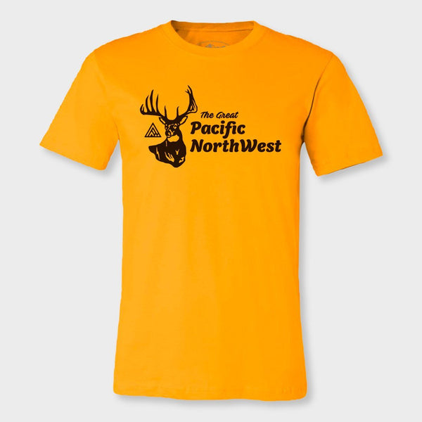 product: The Great PNW Huntsman T-Shirt Yellow