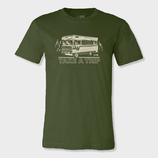 product: The Great PNW Winnie T-Shirt Olive