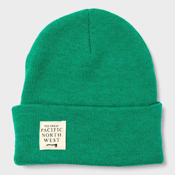 product: The Great PNW Lumberjack Beanie Forest/ Olive