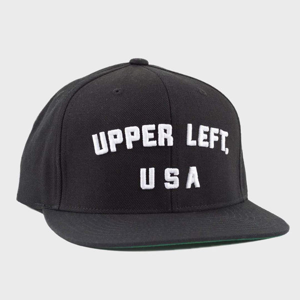 product: The Great PNW Miller Snap Back Cap Black