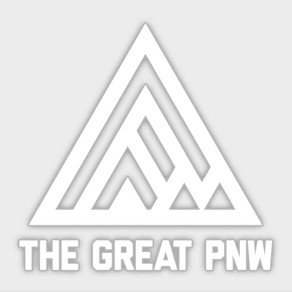 product: The Great PNW PNW Logo Die Cut Sticker