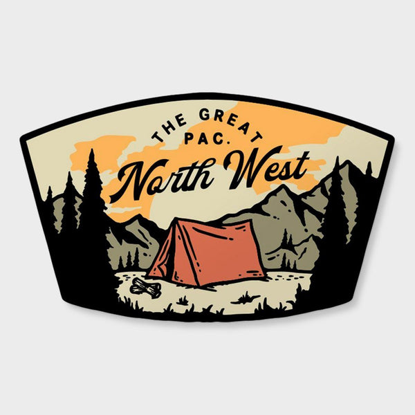 product: The Great PNW Roslyn Sticker White
