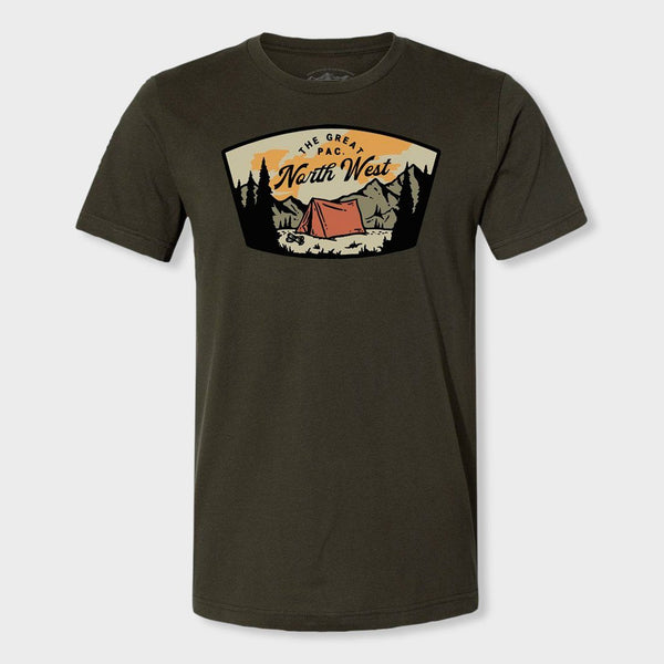 product: The Great PNW Roslyn T-Shirt Dark Olive