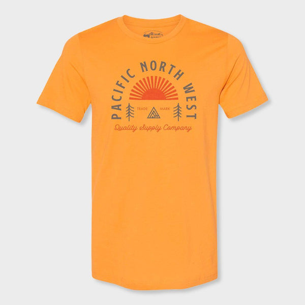 product: The Great PNW Sunrise T-Shirt Mustard