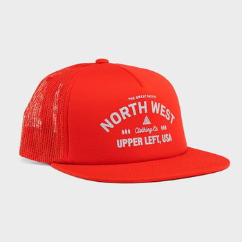 product: The Great PNW Supply Hat Red