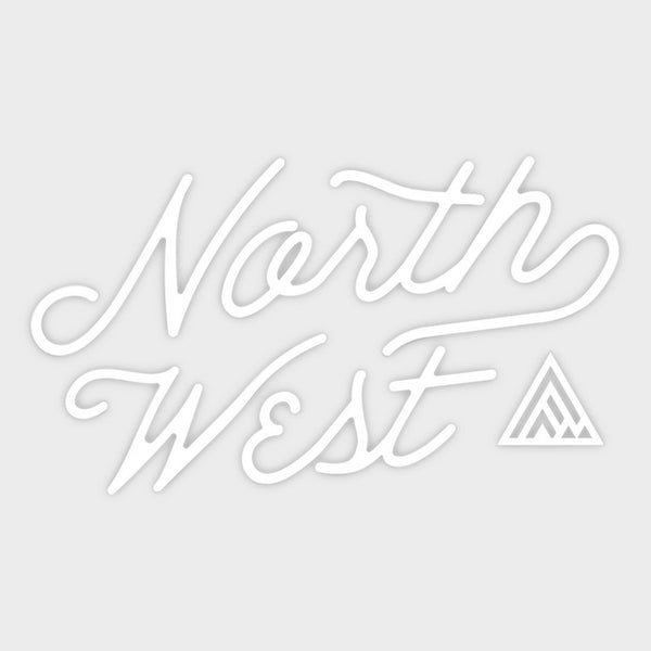 product: The Great PNW Survey Die Cut Sticker