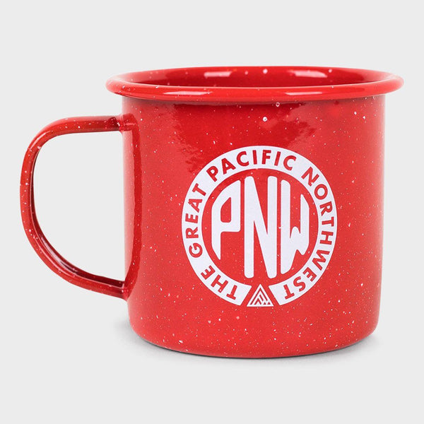 product: The Great PNW Union Enamel Mug Red