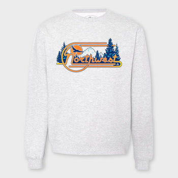 product: The Great PNW Vibe Crew Grey Heather