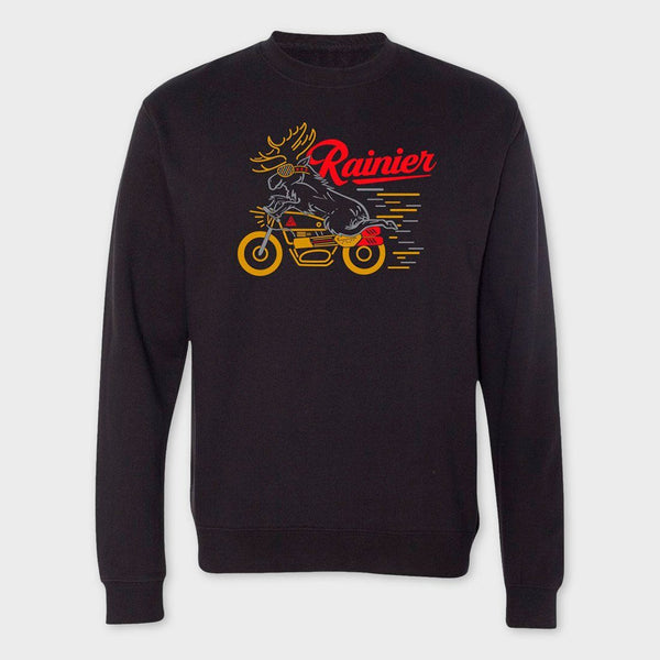 product: The Great PNW Vroomin Crewneck Black
