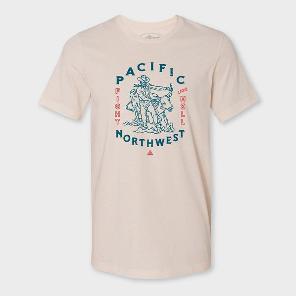 product: The Great PNW Wrassle T-Shirt Cream