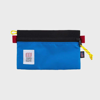 product: Topo Designs Accessory Bag Small Medium Black/ Royal
